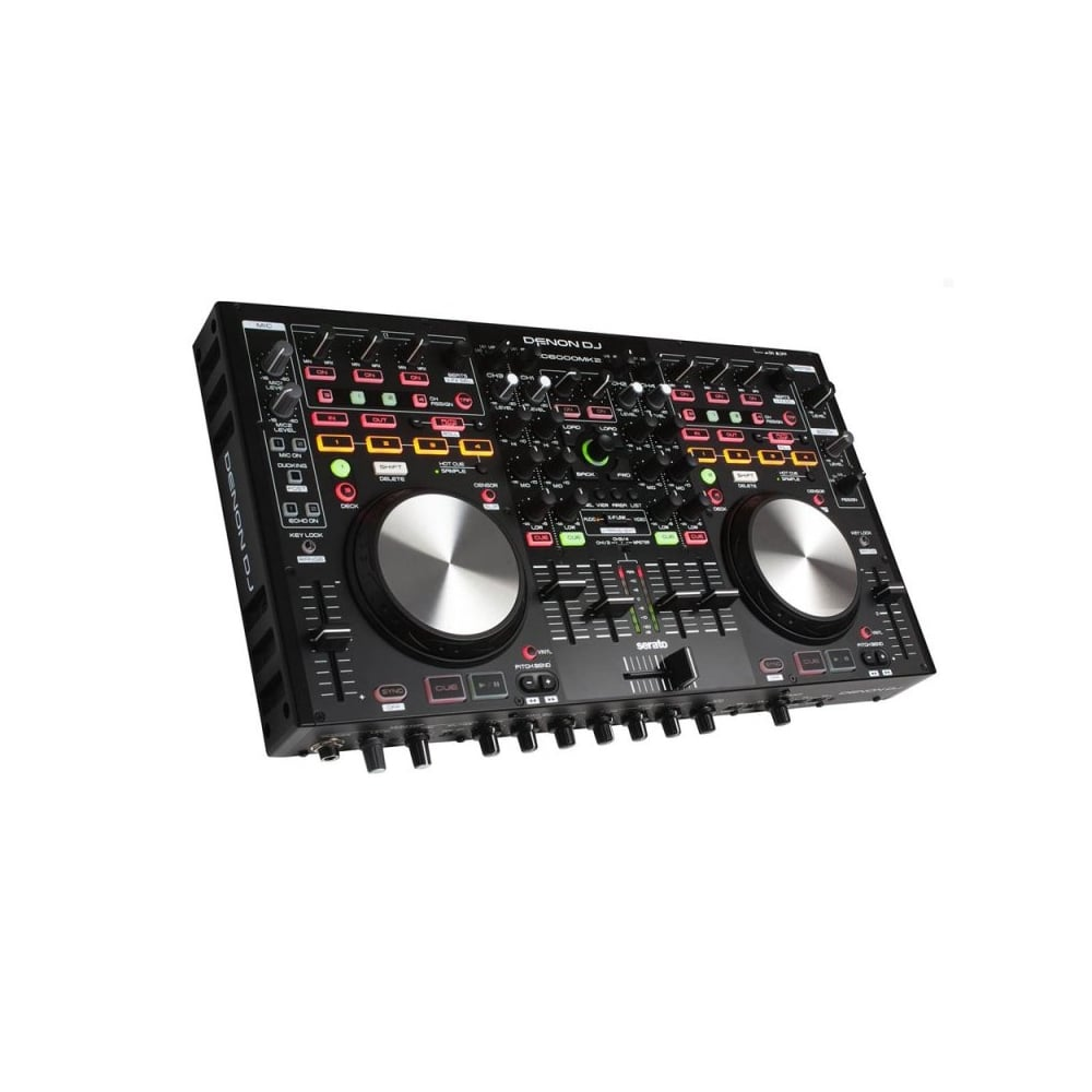 denon mc6000 mk2 professional digital mixer controller. Black Bedroom Furniture Sets. Home Design Ideas