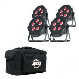 Mega TRIPAR Profile PLUS 4 pack & bag Bundle