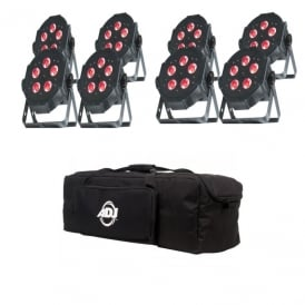 Mega TRIPAR Profile PLUS pack of 8 & bag Bundle