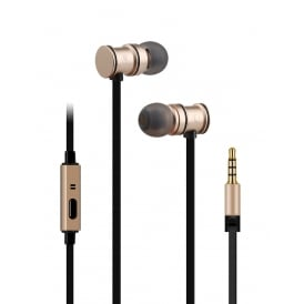 Metallic Magnetic Stereo Earphones