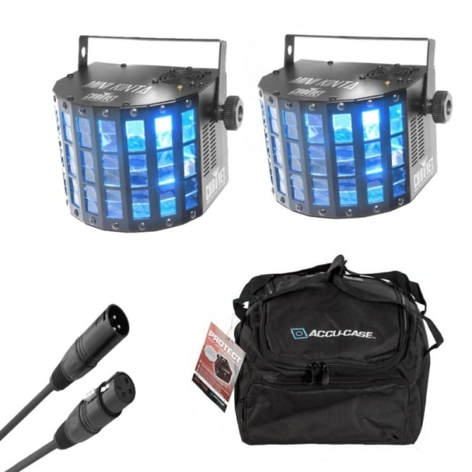 Chauvet Mini Kinta IRC & Bag Bundle