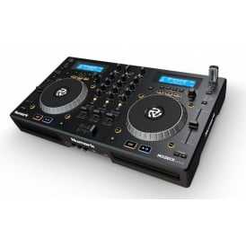 Mixdeck Express Premium DJ Controller with CD and USB Playback Dual-Tray CD/MP3 Player with USB Thumbdrive Capability