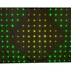 Motion Drape™ LED 3 x 2 lighting curtain