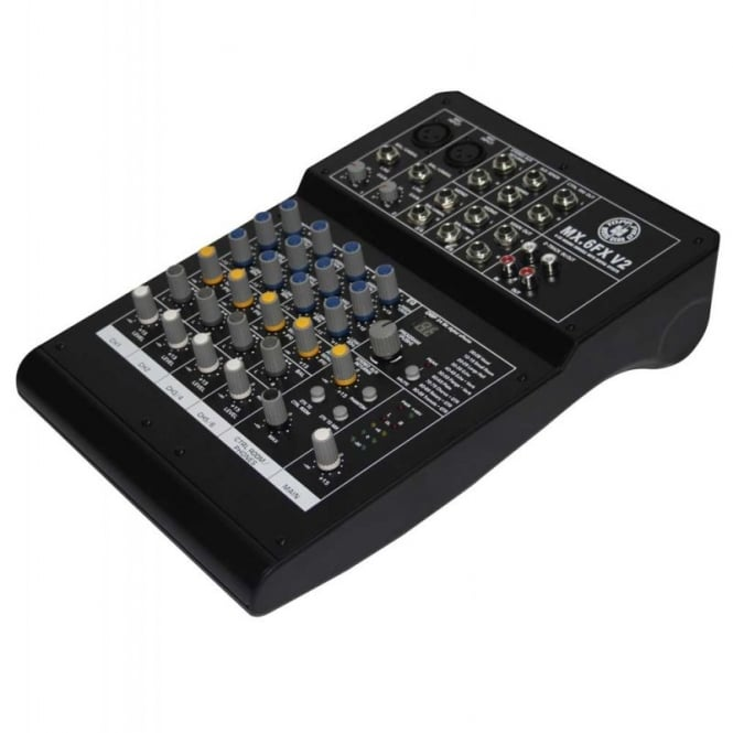 Topp Pro MX.6FX V2 Professional 6 channel mixing console