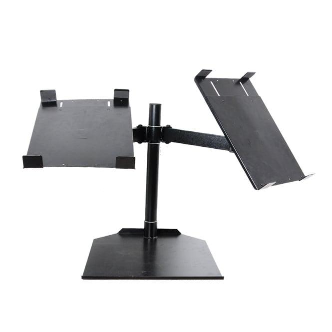 CDJ dual table stand Fully adjustable universal twin CDJ stand