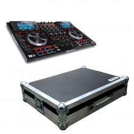 NVII Intelligent Dual-Display controller for Serato DJ & Case Bundle