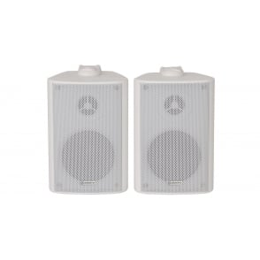 "PAIR BC3-W 3"" Stereo speaker, White PAIR"