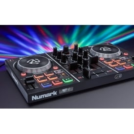 Party Mix DJ Controller with Built In Light Show