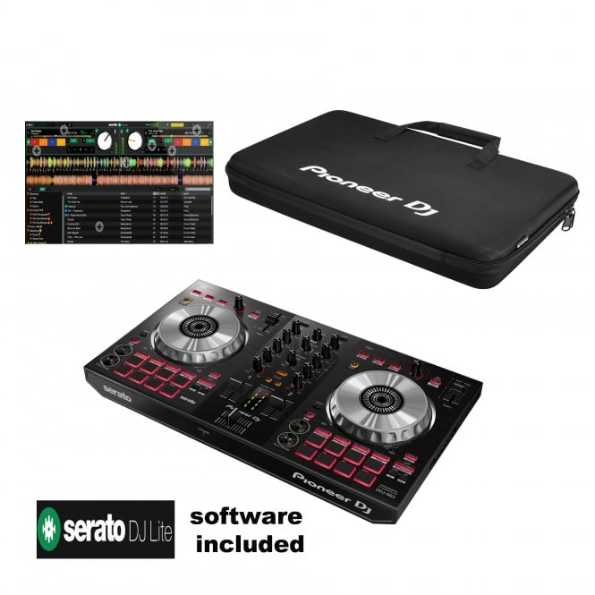 Pioneer DJ Pioneer DDJ-SB3 DJ Controller with Serato DJ Lite Software & BAG Bundle