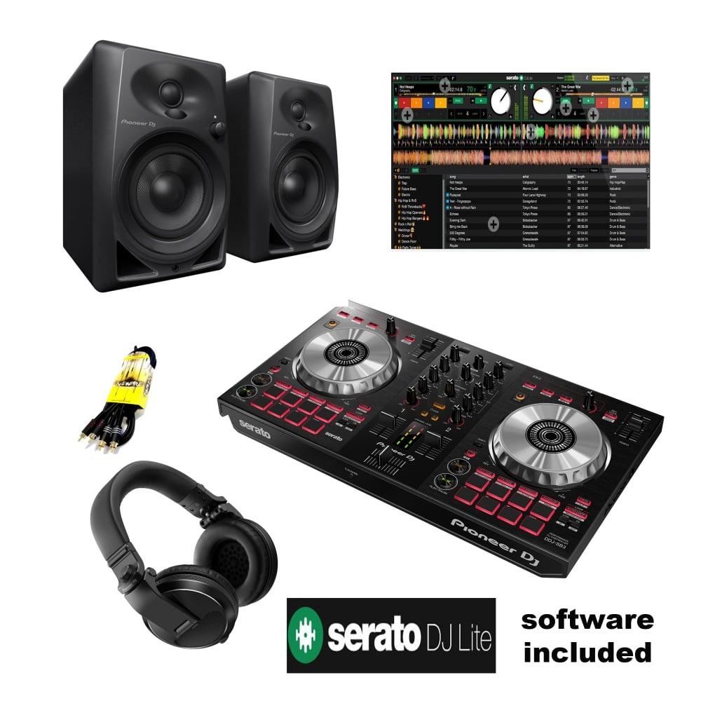 Pioneer DDJ-SB3 Serato DJ starter Bundle