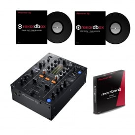 PIONEER DJM-450, DVS MIXER + REKORDBOX & 2 X OFFICIAL CONTROL VINYL Bundle