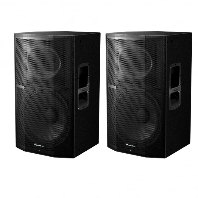 Pioneer DJ Pioneer XPRS-15 2400W Active PA Speaker with Powersoft Amplification Bundle EX-DISPLAY