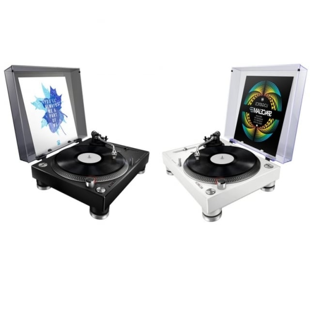 Pioneer DJ PLX-500 & PLX-500-W Turntable for DJs and vinyl lovers