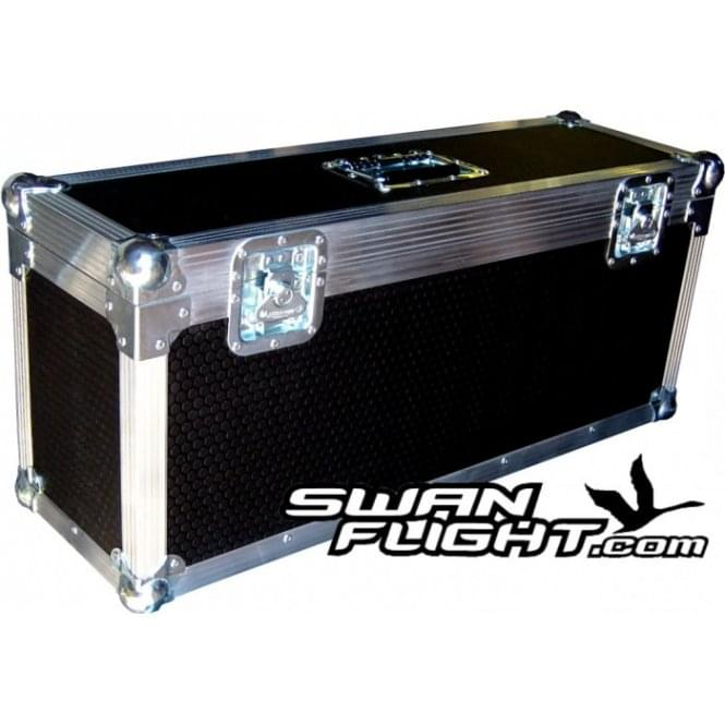Swan Flight Cases Prolight 5Q5 LEDJ Slimline LED Parcan Flightcase holds 6