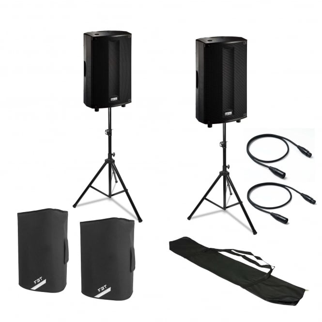 FBT ProMaxX 112a stands and covers Bundle