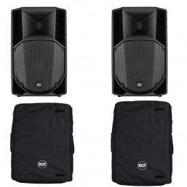 RCF ART715A MK4 PAIR & Cover Bundle