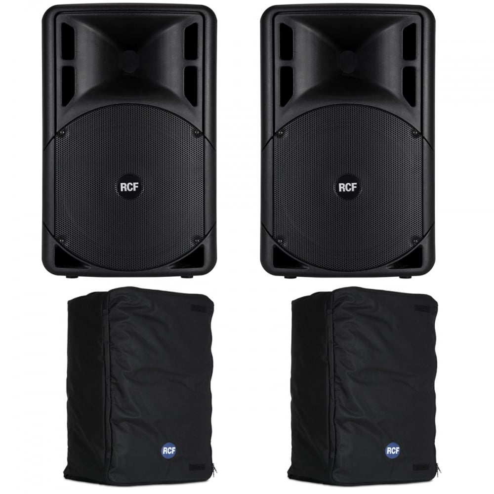ART 312-A MK4 ACTIVE TWO-WAY SPEAKER'S WITH COVERS Bundle