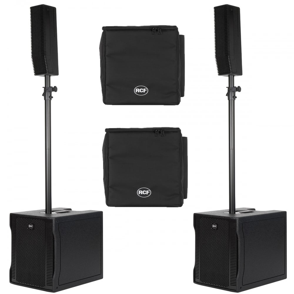 EVOX 8 ACTIVE TWO-WAY ARRAY PAIR WITH COVERS Bundle