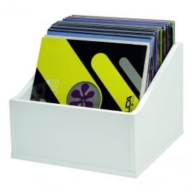 RECORD BOX ADVANCED WHITE 110 Vinyl storage system