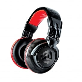 Red Wave Carbon Headphones