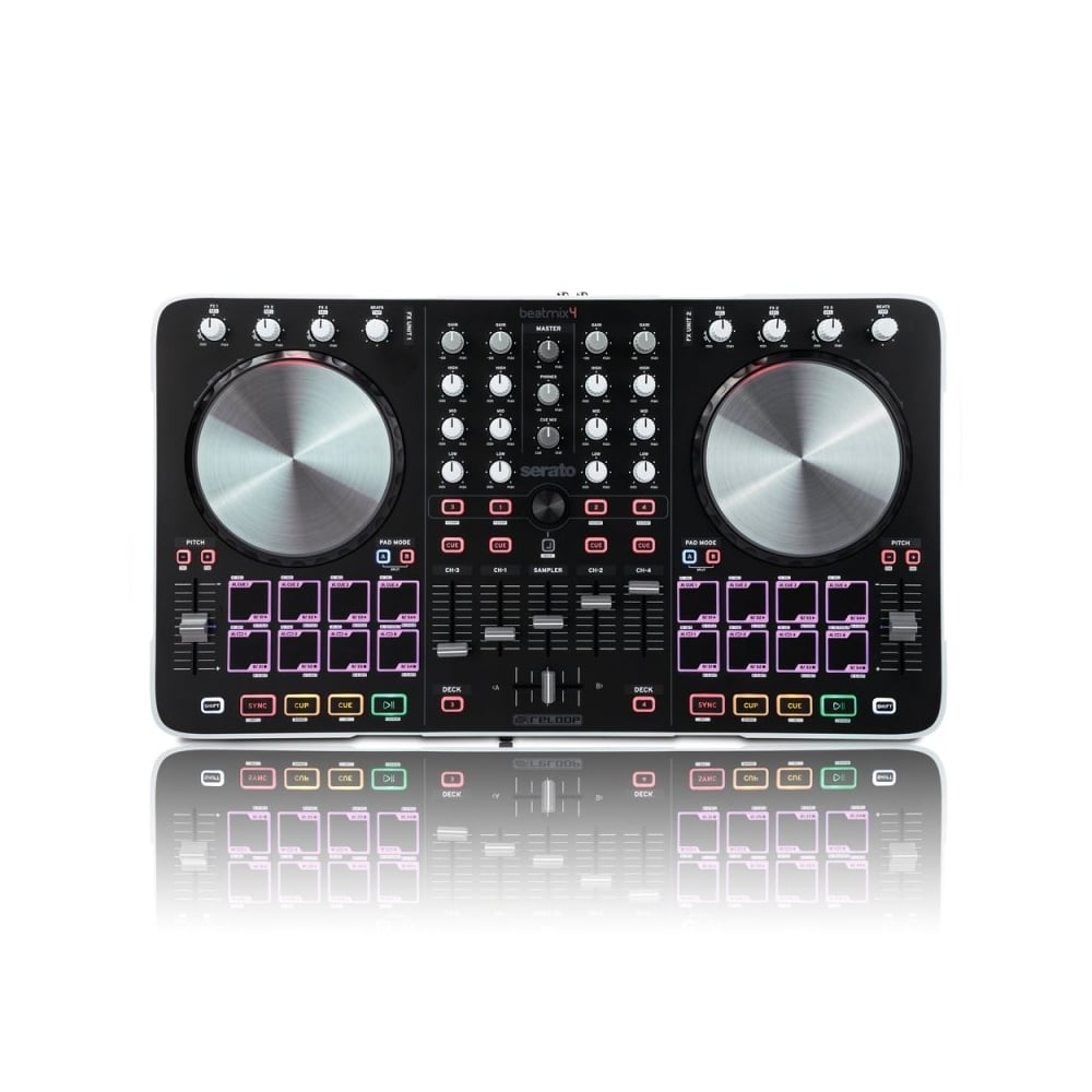 Beatmix 4, 4-channel Pad Controller for Serato DJ