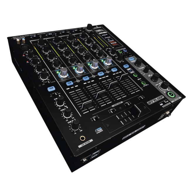 Reloop RMX-90 DVS High Performance Club Mixer for Serato DJ includes software and vinyls