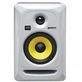ROKIT 5 RP5 G3 studio monitor limited edition white version