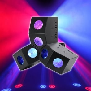 Six Shooter MKII 24 x 3W LED DMX Effect