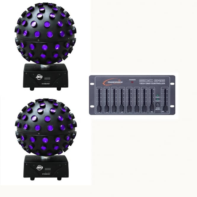 American DJ Starburst LED & Easy Controller Bundle