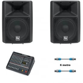Sx300E 12-inch with Dynacord Powermate 600-3 bundle