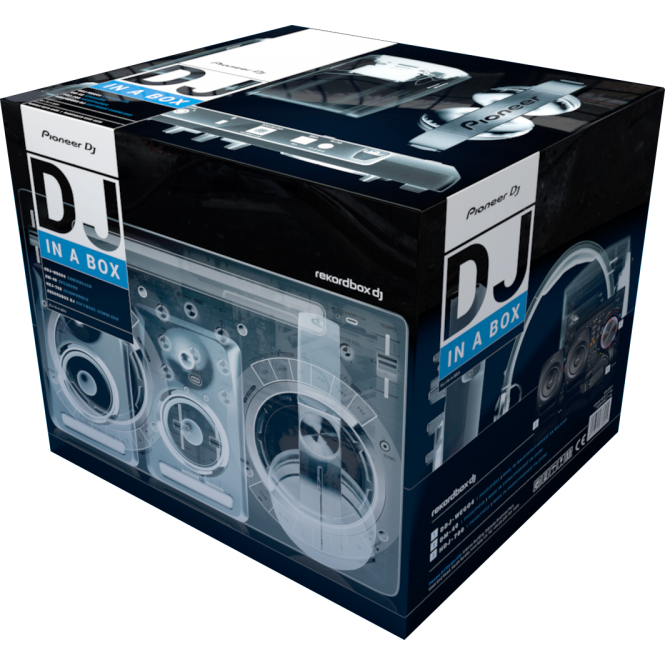 Pioneer DJ THE DJ STARTER PACK - A HIGH-QUALITY, FULL SETUP FOR BEGINNER DJS