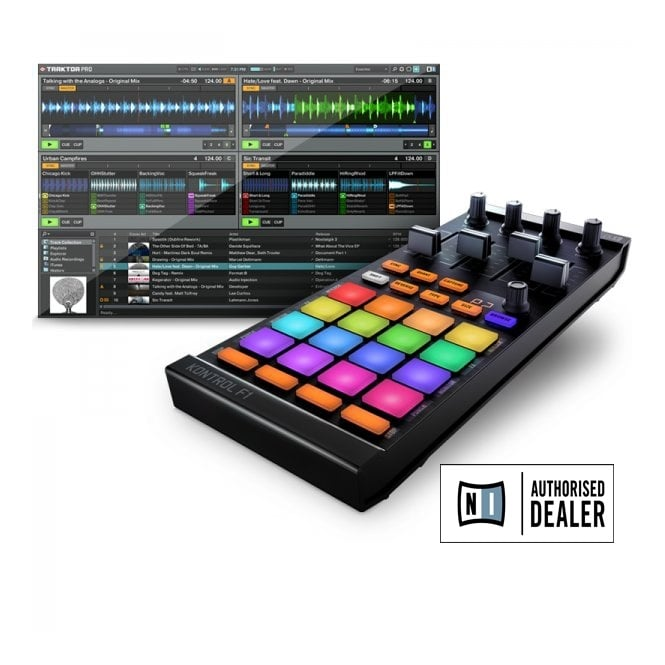 Native Instruments Traktor Kontrol f1 remix decks