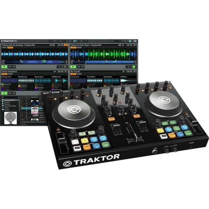 Native Instruments Traktor Kontrol S2 Mk2 DJ Midi Software Controller