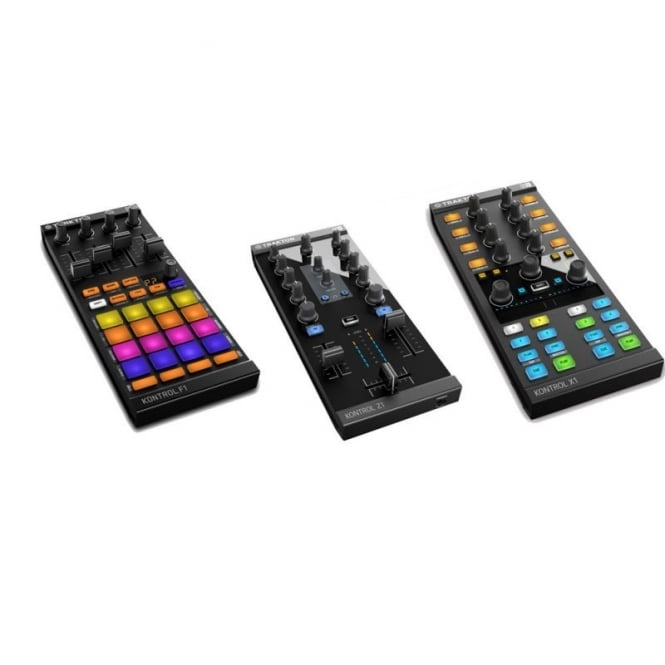 Native Instruments Traktor Kontrol Z1, Traktor Kontrol X1 and Traktor Kontrol F1 bundle