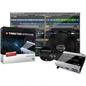 Native Instruments Traktor Scratch A6 Digital Vinyl System