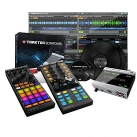 Traktor Scratch A6, Kontrol F1 And Kontrol X1 mk2 Bundle