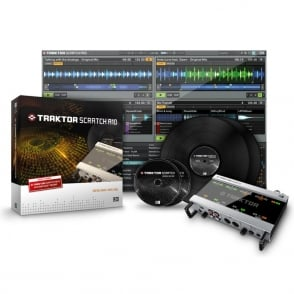 Native Instruments Traktor Scratch Pro 2 Audio Interface Digital vinyl DJ system
