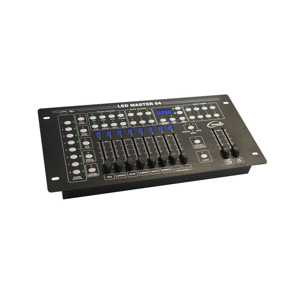 LED Master 64 Controller easy dmx controller