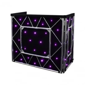 Truss Booth Quad LED Starcloth System