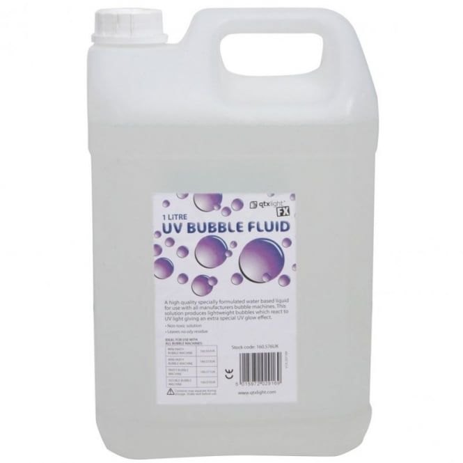 Phase One UV Bubble fluid for bubble machines