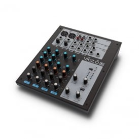 VIBZ 6 6 CHANNEL MIXING CONSOLE