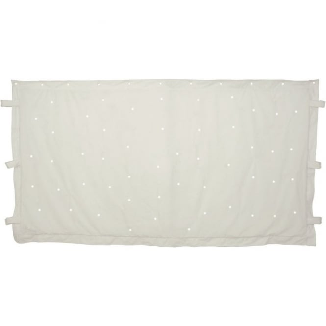 QTX WHITE LED STAR CLOTH 1m x 2m