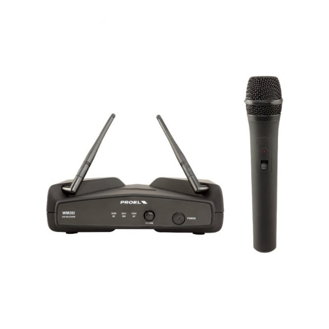 Proel WM202 UHF Wireless microphone system