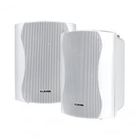 WPS 35 White 8 Ohm Weatherproof Speakers (Pair)