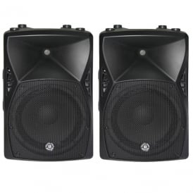 X12A – 12 800W ACTIVE POWERED PA SPEAKER - PAIR Bundle