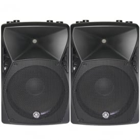 X15A – 15 800W ACTIVE POWERED PA SPEAKER - PAIR Bundle