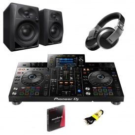 XDJ-RX2 All-in-one DJ system for rekordbox & DM-40 Monitors and HDJ-X5 bundle