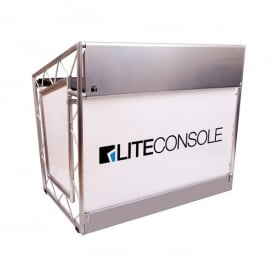 Xprs lite Foldable Mobile DJ Booth Club Trussing Stand