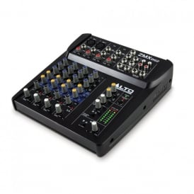 Zephyr zmx 862 6 channel 2-bus mixer